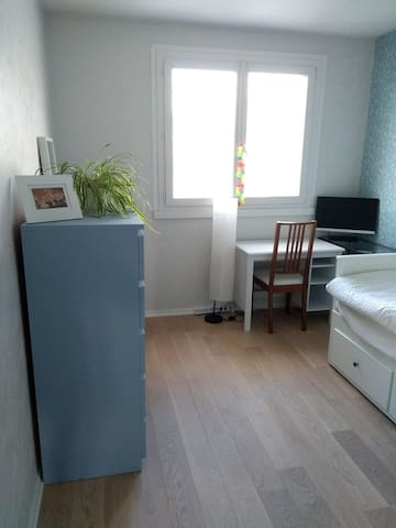 Nice and quiet room near Part Dieu train station
