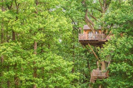 Cabane Imprenable pour 2 personnes - Raray - 树屋