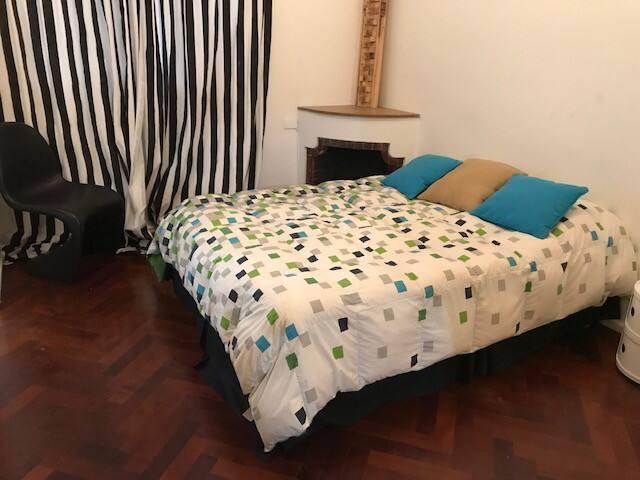 Cómodo espacio en Recoleta para 1 o 2 personas
