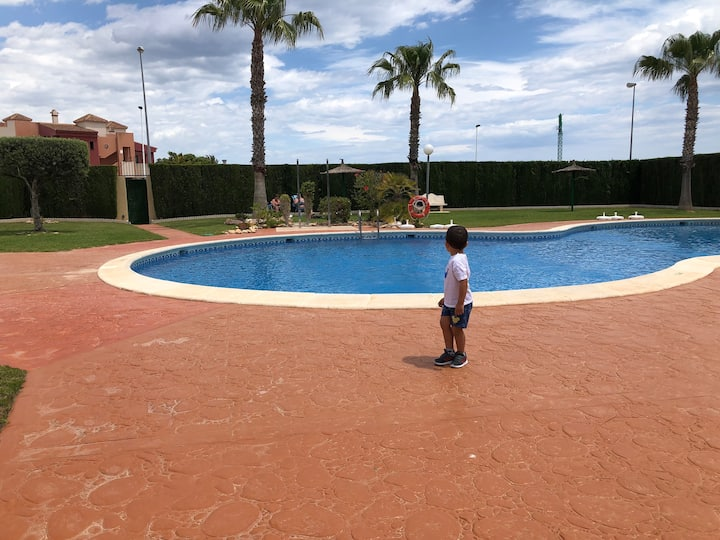Holiday Apartment in Punta Prima, Orihuela Costa