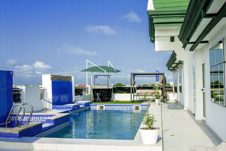 Villa à 5min de la plage en pleine centre ville