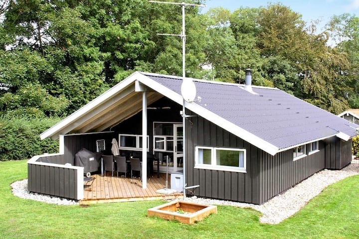 Heerlijk vakantiehuis in Sydals Jutland met sauna