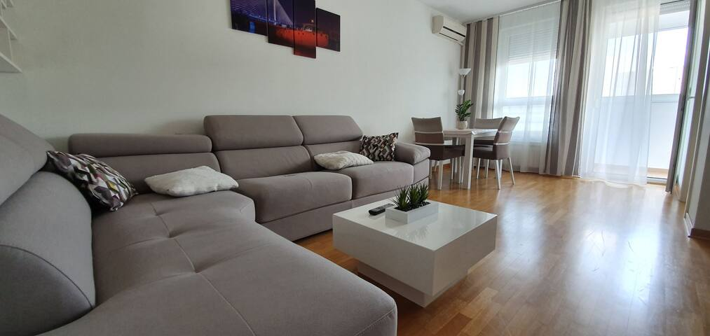 Zok apartments with big balcony and city view