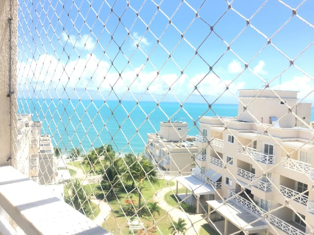 Apartamento de um quarto com vista para o mar