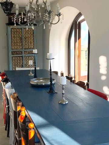 The dining room - ground floor