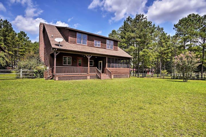 Farmhouse 11 Mi to Southern Pines + Pinehurst