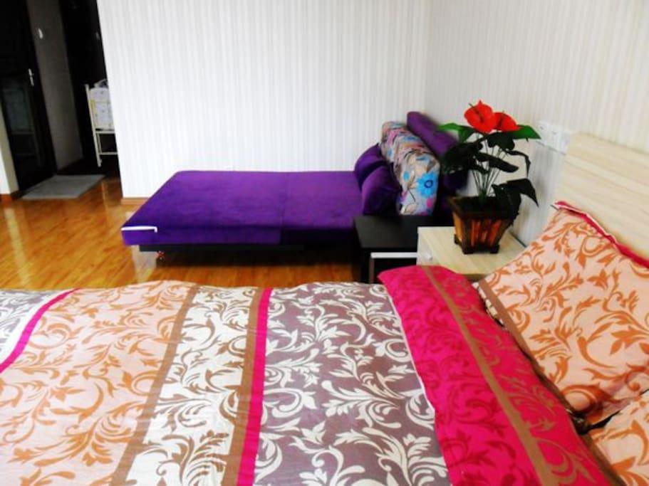 大床+沙发床