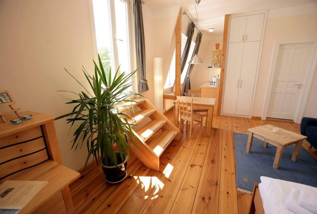 villa glaeser ferienwohnung no 33 serviced apartments for rent in seebad bansin mecklenburg. Black Bedroom Furniture Sets. Home Design Ideas