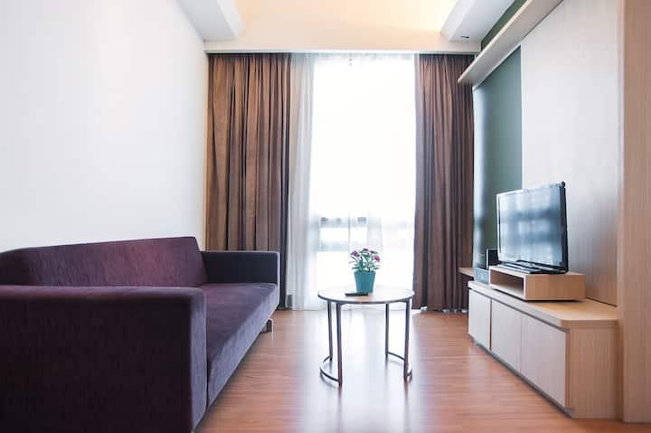 #12瑞园四星套房公寓 1R1B 吉隆坡市中心 S2208