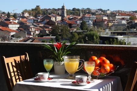 Panoramic City View Apartment - Guimarães