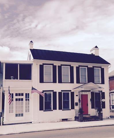 Historic York Street Manor-Downtown Gettysburg! - Gettysburg - Casa