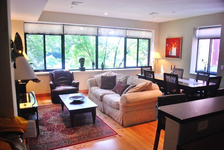 Spectacular 2-Bedroom Condo in Downtown Portsmouth - Portsmouth - Appartement en résidence