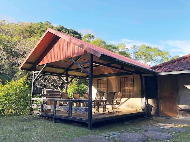 G+, the hidden Oki-House & free BBQ grill rental