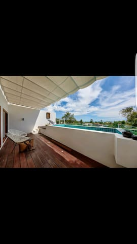 Blue Coconut loft lamai sea view, penthouse 2B - Ko Samui - Flat