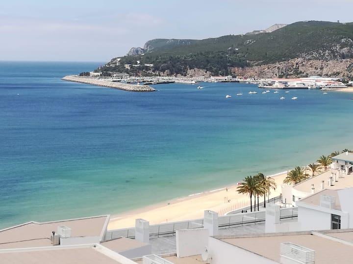 Terraza con vistas al mar - 2 minutos de la playa