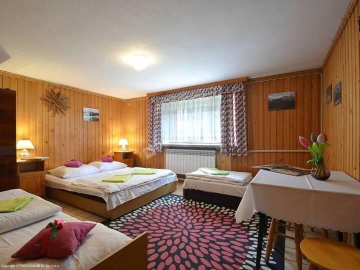 """""""Tatry"""" - 4 os. pokój w drewnie"""