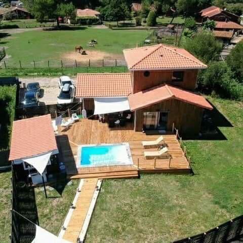 Villa l'îlot Mas & Spa chambre d'hôtes chic et zen