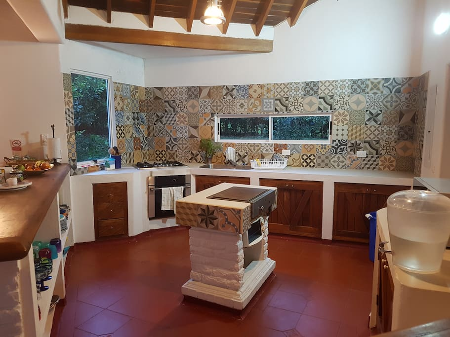 Newly remodeled kitchen in newly remodeled home