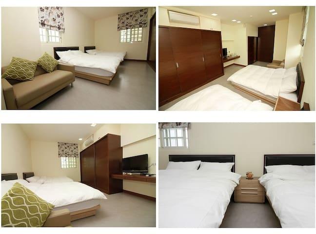 193樂奇民宿-1樓四人套房 - Guangfu Township