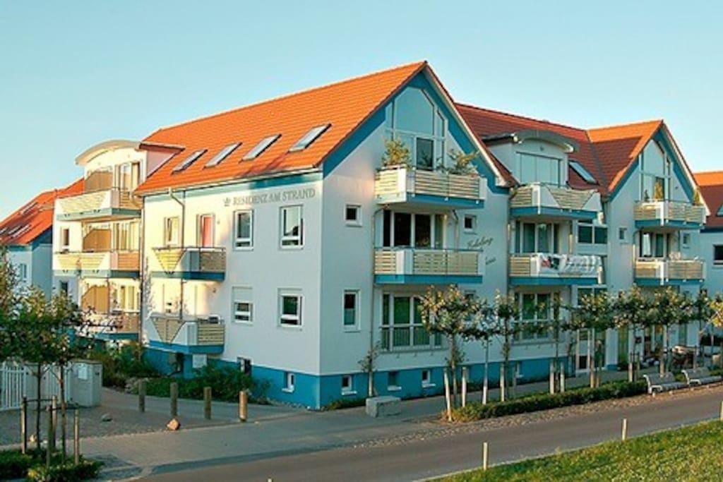 residenz am strand whg 8 apartments for rent in zingst mecklenburg vorpommern germany. Black Bedroom Furniture Sets. Home Design Ideas