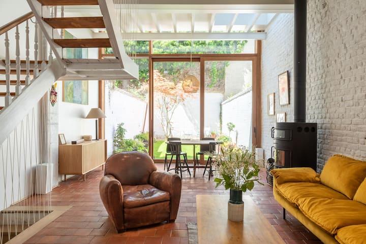 Brussels Architect Garden House - Flagey Ixelles