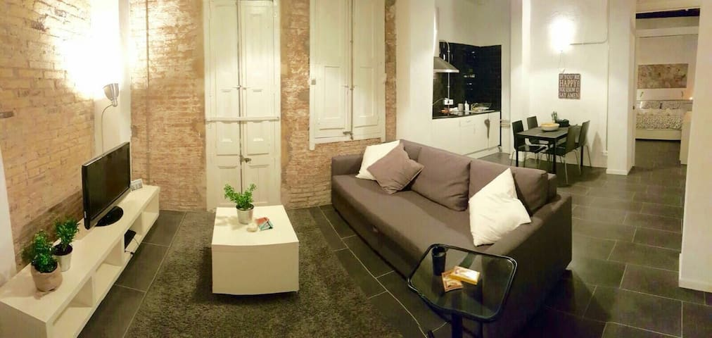 Modern spacious loft for 4 pers - Barcelone - Loft