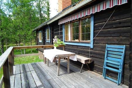 Beutiful mountain view timber cabin - Älvdalen - 小木屋