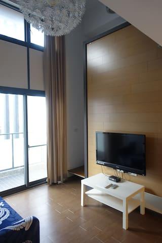 四人兩大臥室/兩大衛浴/餐廳廚房客廳起居室,大樓獨立公寓 - North District - Leilighet