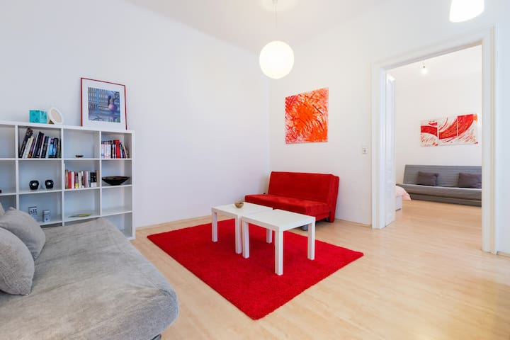 Central,Perfect for Groups,90m2,10pers - Vienna - Lejlighed