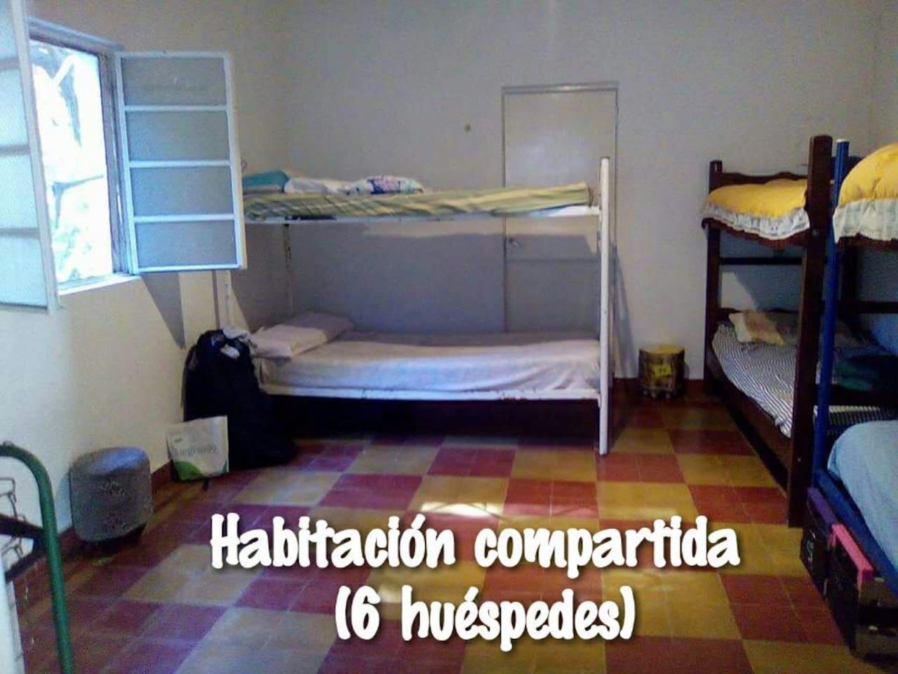 Hospedaje Tipo Hostel En Habitaci N Compartida Dormitorios  # Pehuen Muebles Pilar