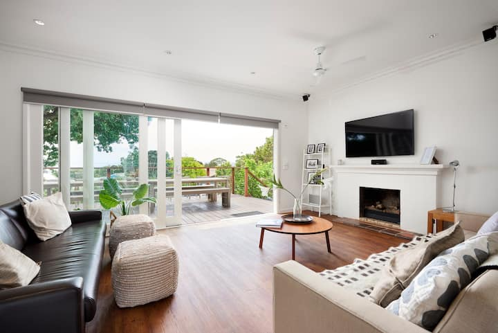 McCrae 5 brm home. Bay views, Beach , Wifi & Wineries 🥂