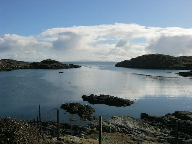 Spinners Cottage B&B  IsleofHARRIS - Geocrab - Penzion (B&B)