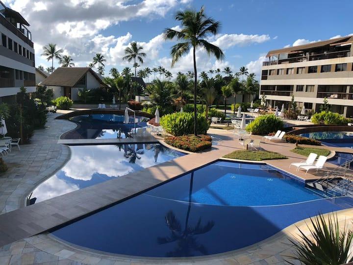 Flat no Resort Malawi -Muro Alto/Porto de Galinhas