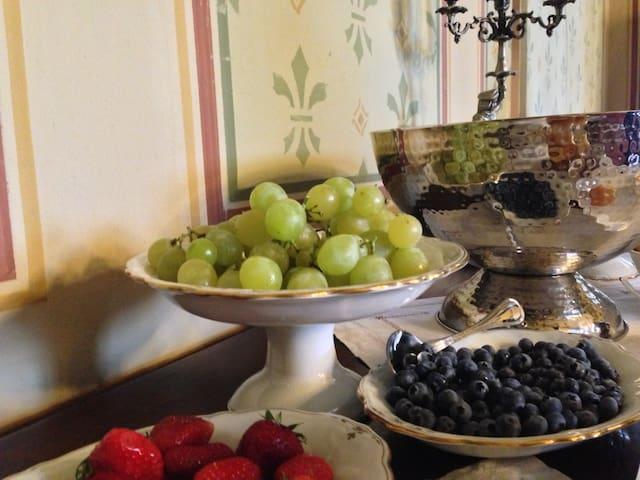 Elegante suite con bagno - Mornico Losana - Castle