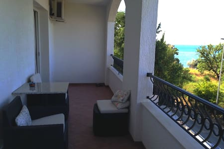 Spacious Sea View Apartment - Perfect Location - Budva