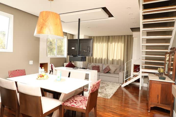 Apartamento 2 Quartos Luxo a 700 metros do centro.