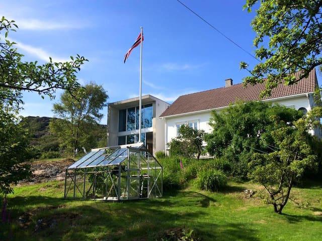 Villa ved havet sør for Egersund - Eigersund - Casa