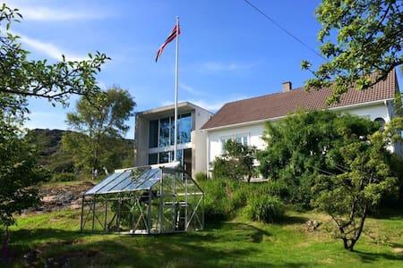 Villa ved havet sør for Egersund - Eigersund