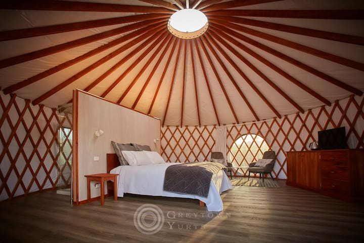 Greytown Yurts - Luxurious Glamping Experience