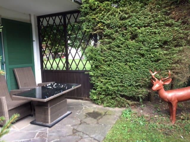 Ruhige helle 2 Zimmer Ferienwohnung am Tegernsee - Kreuth