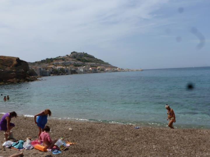 Cabanon sur la plage