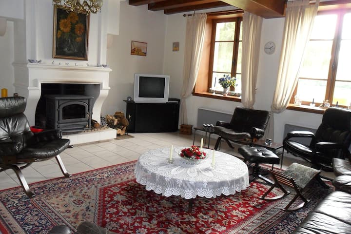 Attractive holiday home in Auvergne.