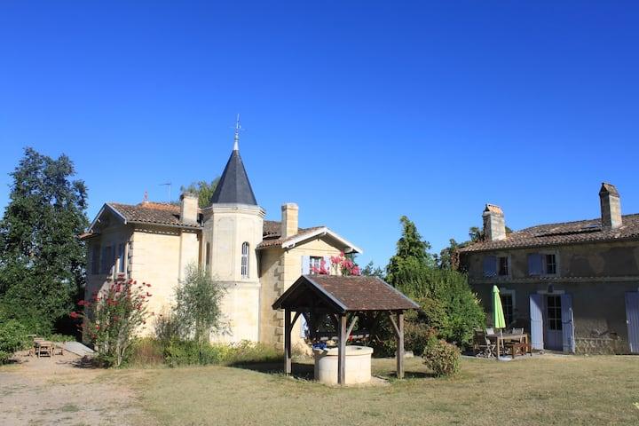 Château et dependance des vendangeurs