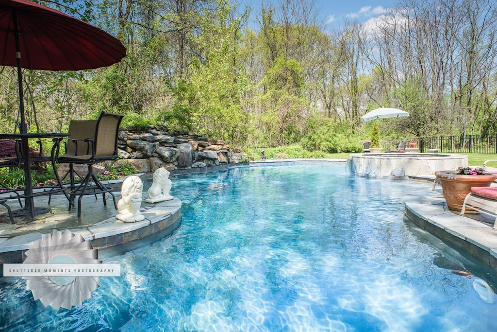 house with pool oasis in the hudson valley ny houses for rent in beacon 12508