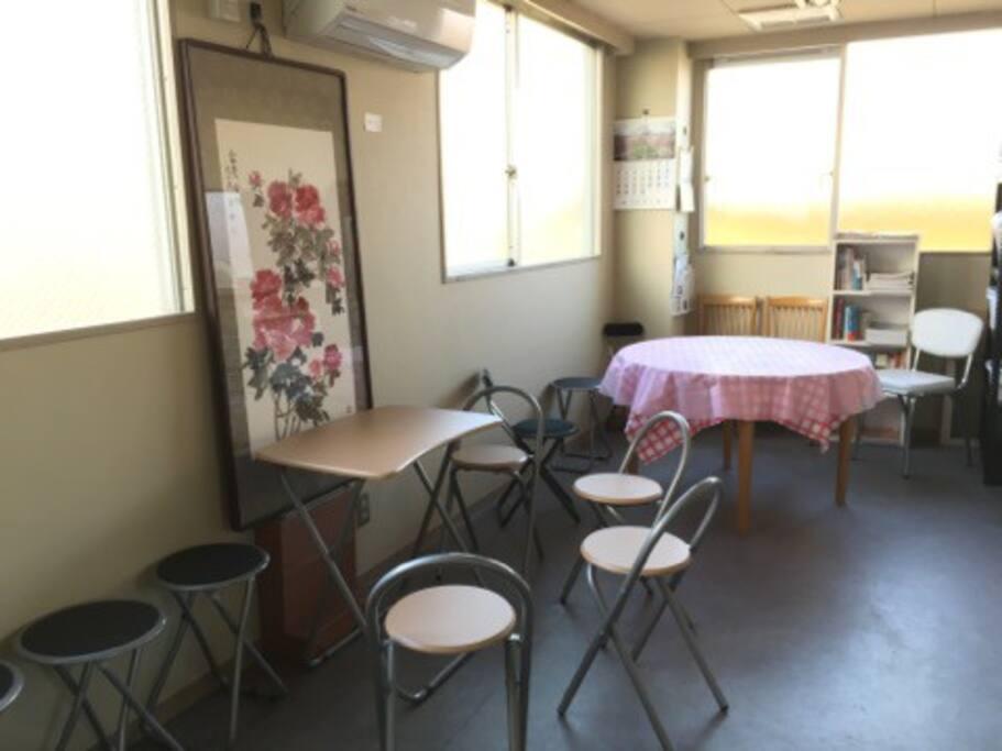 (共用スペース)食堂