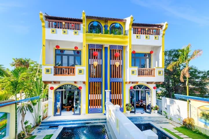 Hoi An Village villa/ 8BR/Private Pool/Garden
