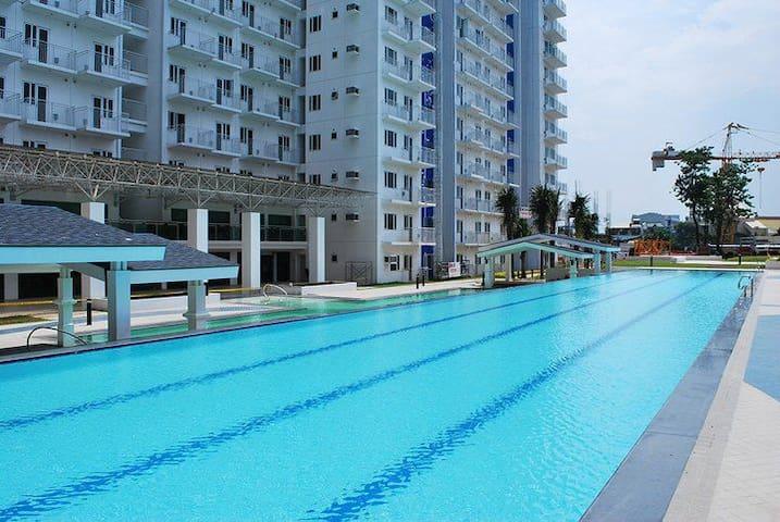 condo fo rent vacation short long term Grass res. - Quezon City - Ortak mülk