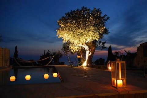 Luxury Restored Stone Villa Gaia