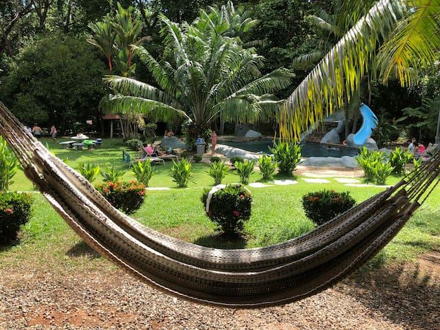 Triple room at Hotel Sueños Tranquilos w/ pool
