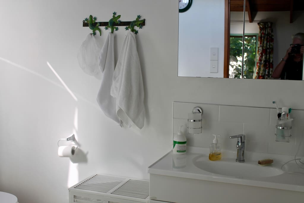 En-suite bathroom (shower, basin & toilet)